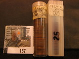 (81) 1929 D Lincoln Cents in a plastic tube, all grading Fine. Red Book $80+.