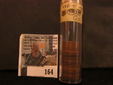 (24) 1931 D Lincoln Cents in a plastic tube, all grading VG. Red Book $120.
