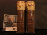 (101) 1931 D Lincoln Cents in a plastic tube, all grading Fine. Red Book $600+.