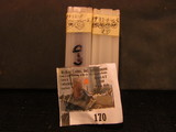 (69) 1932 D Lincoln Cents in a plastic tube, all grading Very Good. Red Book $130+.