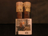 (84) 1932 D Lincoln Cents in a plastic tube, all grading Fine. Red Book $160+.