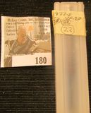 (22) 1933 D Lincoln Cents in a plastic tube, all grading Very Fine. Red Book $80+.