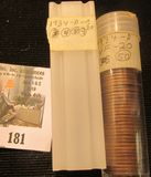 (57) 1934 D Lincoln Cents in a plastic tube, all grading Very Fine. Red Book $70+.