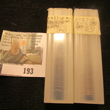 (64) 1927 D Lincoln Cents in a plastic tube, all grading Fine. Red Book $110+.
