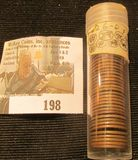 (44) 1926 D Lincoln Cents in a plastic tube, all grading Fine. Red Book $120+.