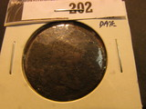1798 U.S. Large Cent. Clear Date.