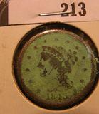 1843 U.S. Large Cent.