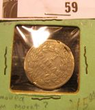 1867 Pope Pius IX 1 Lira removed from mount?