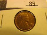 1909 P VDB Lincoln Cent, AU.