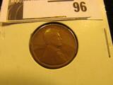 1909 S Lincoln Cent, Rare, Scarce Date. Fine.
