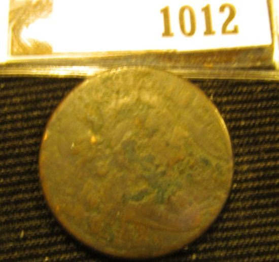1012. 1798 DRAPED BUST LARGE CENT