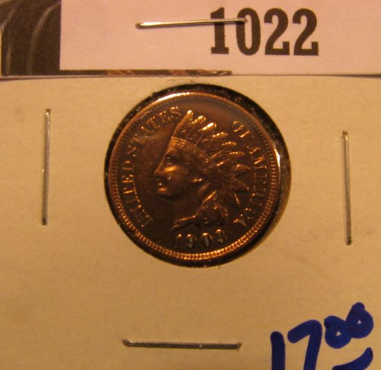 1022. 1903 INDIAN HEAD CENT