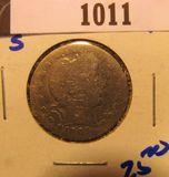 1011. 1905-S BARBER QUARTER