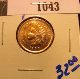 1043. 1899 Indian head cent