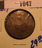 1047. 1817 Large Cent
