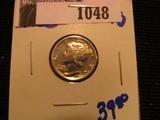 1048. 1925 Mercury Dime