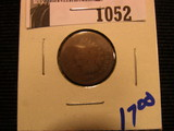 1052. 1873 Indian head cent