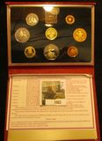 1062. 1984 BRITISH PROOF SET FROM THE ROYAL MINT