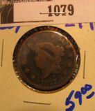 1079. 1827 Large Cent