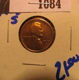 1084. 1913 S wheat cent