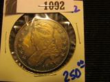 1092. 1821 Bust Half Dollar