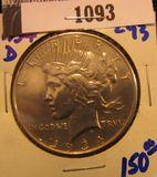 1093. 1934 D Peace Dollar