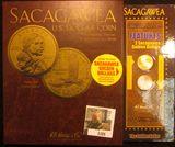 1101. Sacagawea dollar set with two Sacagawea dollars