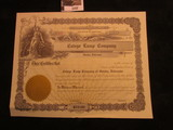 1157. Unissued Stock Certificate