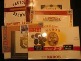 1182. (10) Different highly colorful Old Antique Cigar Box Labels and a nice group of Old