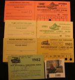 1183. 1982, 1985, 1991, & 1992 Mount Pleasant, Iowa Midwest Old Settlers & Threshers Assoc