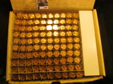 1192. (100) 1964 P Brilliant Uncirculated Rolls of Lincoln Cents stored in plastic tubes.