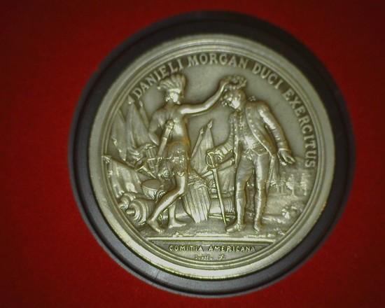 General Daniel Morgan U.S. Mint Department of the Treasury Medal in original case.