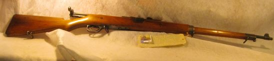 Model 1905 Ross Rifle Company, Quebec, Canada .303 caliber Clip Fed, Five-shot with concealed magazi