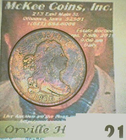1806 U.S. Half Cent.