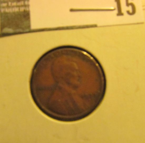 1922 D Lincoln Cent, G-VG.