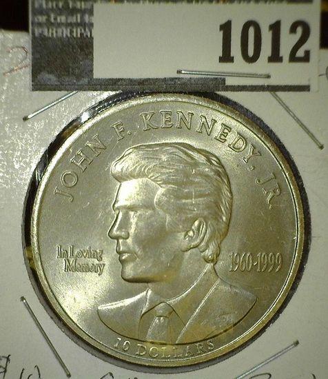 2000 Liberia Ten Dollar John F. Kennedy Commemorative.