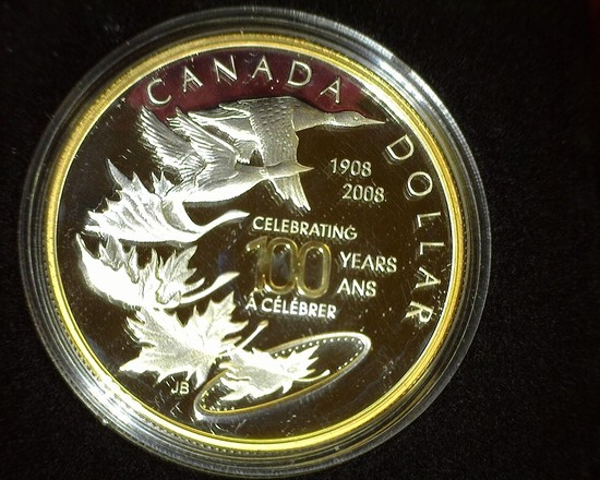 2008 Special Edition Proof Canada Silver Dollar. In original box as issued.