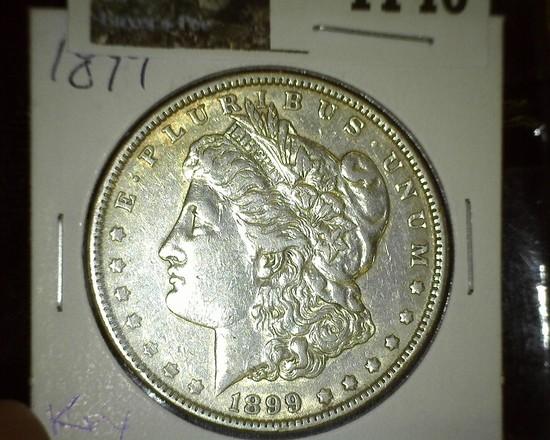 1899 P Morgan Silver Dollar, Key date.