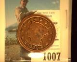1848 U.S. Large Cent,