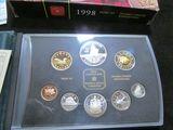 1873-1998 Celebrating 125 Years RCMP-GRC Canada Proof Set in original box.