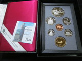 1991 Canada Proof Set in hard case as issued.