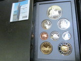 1997 Canada Proof Set in hard case as issued.