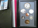 1996 Canada Proof Set in hard case as issued.
