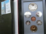 1989 Canada Proof Set in hard case as issued.