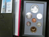 1990 Canada Proof Set in hard case as issued.