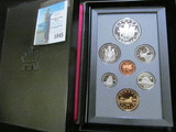 1994 Canada Proof Set in hard case as issued.