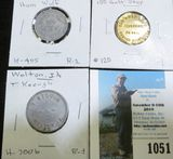 (3) Different Iowa Good for tokens including Welton Center Point, & Lyons, Iowa Good Fors.
