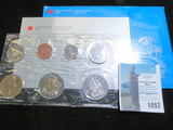 1999 Canada Mint set, original as issued.