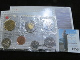 1998 Canada Mint set, original as issued.