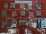 Occupation of Danzig, West Prussia Complete Set of 1939 Stamps with literature.